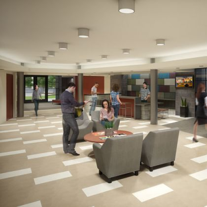 After5creative graphic design 3d illustration for Kimberly hall creative interior design
