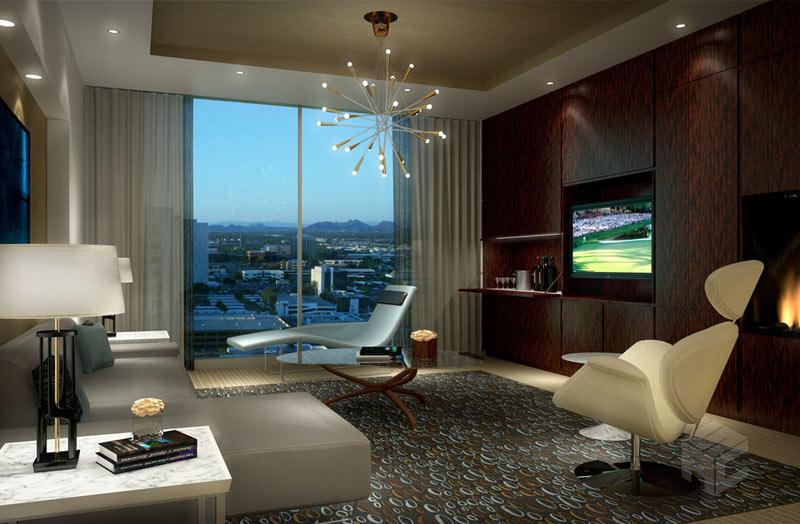 hotel interior rendering