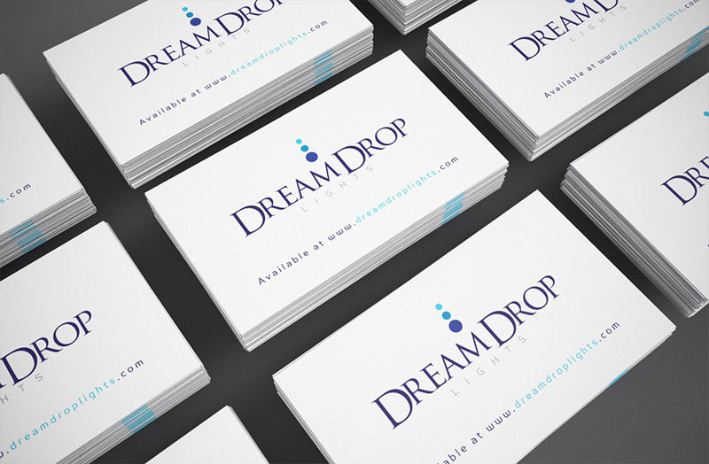 dreamdrop-business-card-design