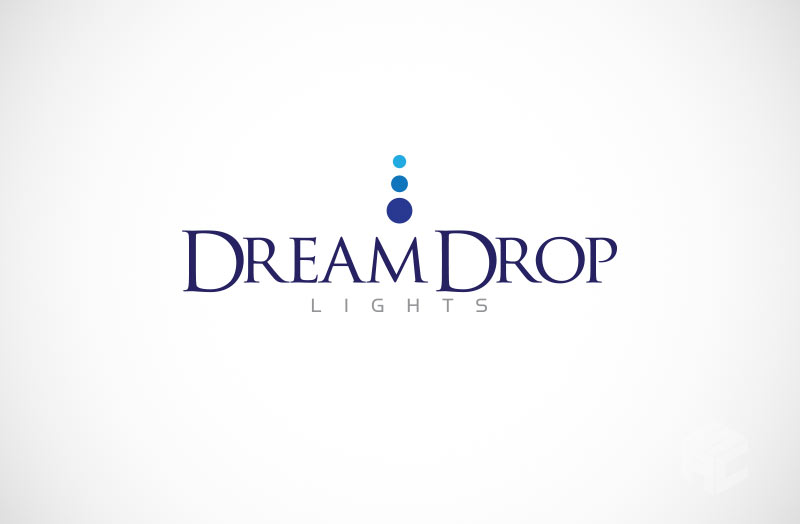 dreamdrop-lights-logo-design