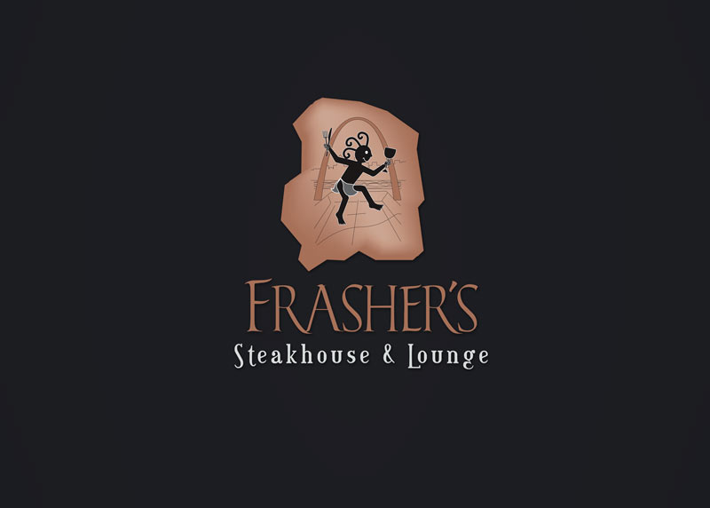 Frasher's Steakhouse Logo Design