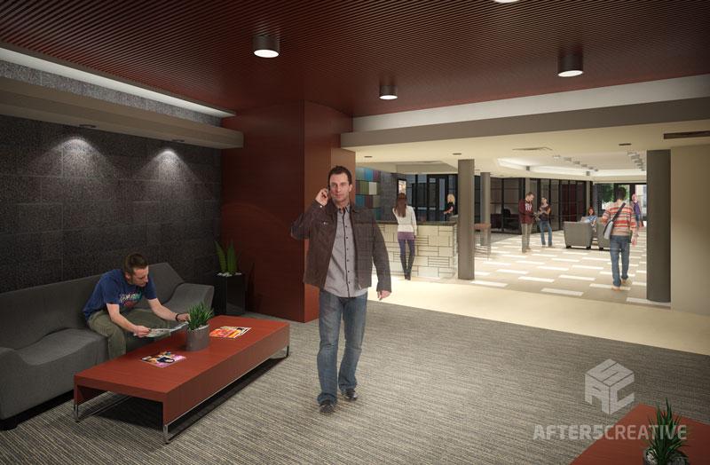 interior rendering, vray render